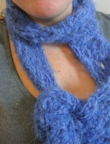 crochet mohair scarf Diary of a Month Spent Crocheting Sharon Silverman Scarves