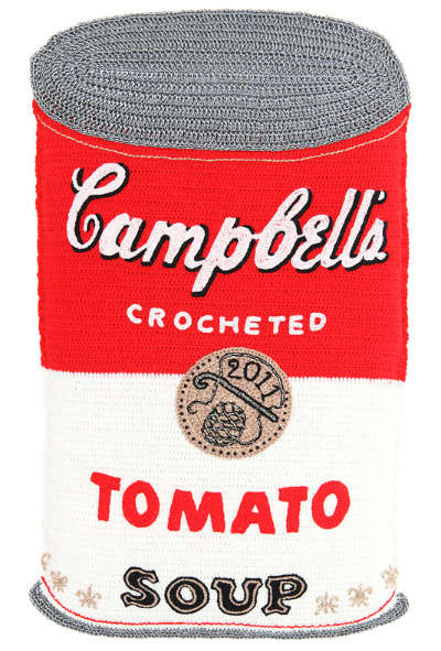 crochet soup can