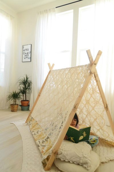 crochet tent 10 Examples of Crochet Items for the Home, a Pinterest Selection