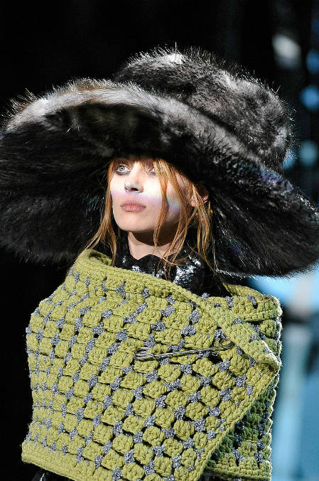 fall 2012 crochet marc jacobs Designer Crochet: Marc Jacobs