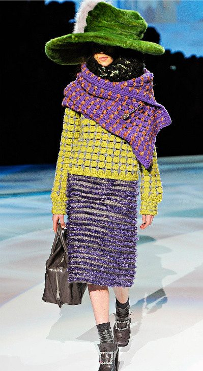 fall 2012 marc jacobs crochet 0 Designer Crochet: Marc Jacobs