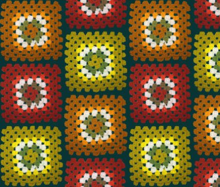 granny square crochet fabric Fabrics Designed with Crochet Lovers in Mind