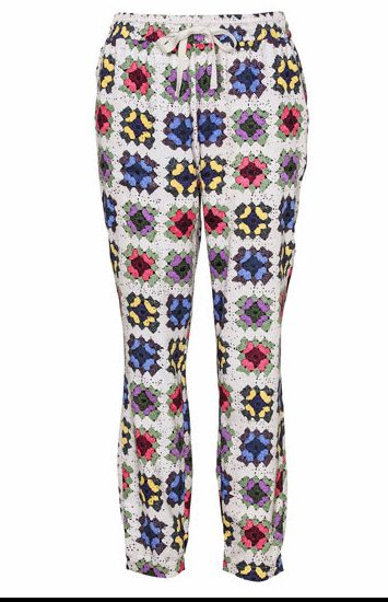granny square pants Fabrics Designed with Crochet Lovers in Mind