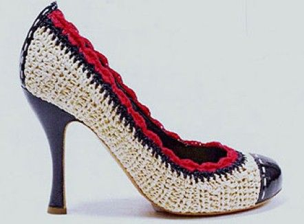 marc jacobs crochet shoes Designer Crochet: Marc Jacobs