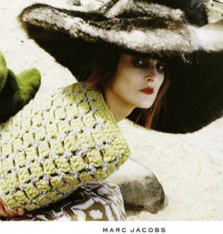 marc jacobs fall 2012 2 Designer Crochet: The 50 Famous Fashion Designers Project