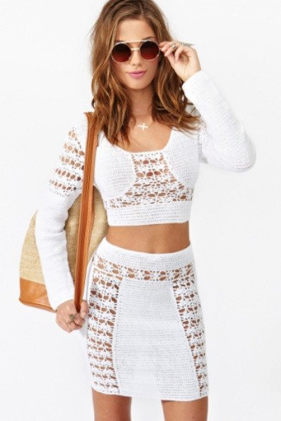 nasty gal crochet Designer and Celebrity Crochet: August Edition