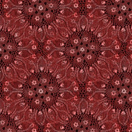 red doily fabric Fabrics Designed with Crochet Lovers in Mind