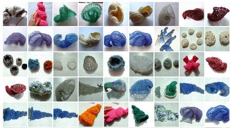 sophie buckley crochet art pieces Contemporary Sculpted Textiles of Sophie Buckley