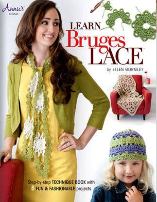 Learn Bruges Lace cover 323 2012 in Crochet: Crochet Books