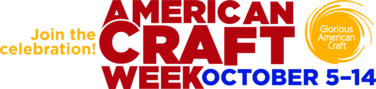 Post image for American Craft Week Starts Tomorrow