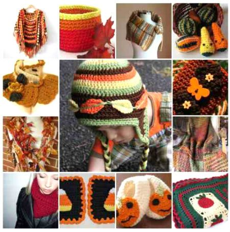 autumn crochet Then and Now in Crochet (9/16   9/22)