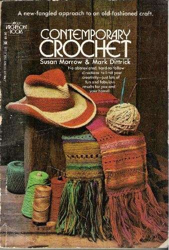 contemporary crochet 1970s Crochet Designers: Mark Dittrick