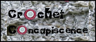 crochet concupiscence logo 400x175 52 Week Crochet Blogging Challenge