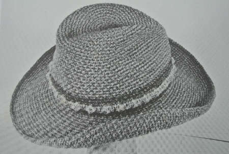 Free Crochet Cowboy Hat Pattern For Adults : crochet cowboy hat