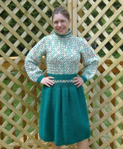 crochet dress etsy 400x485 15 Beautiful Crochet Dress Patterns to Buy Online