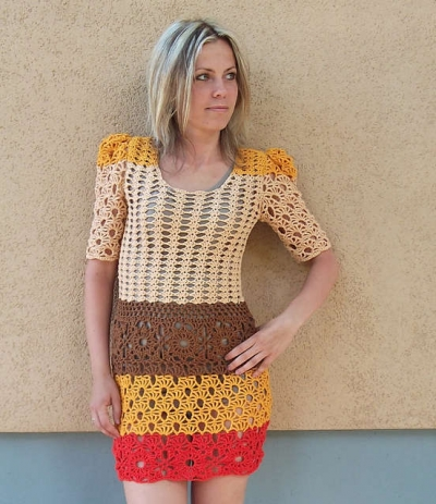 15 Beautiful Crochet Dress Patterns