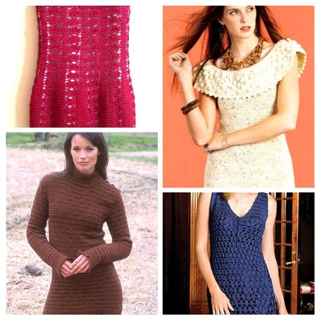 Post image for 15 Beautiful Free Crochet Dress Patterns for Women