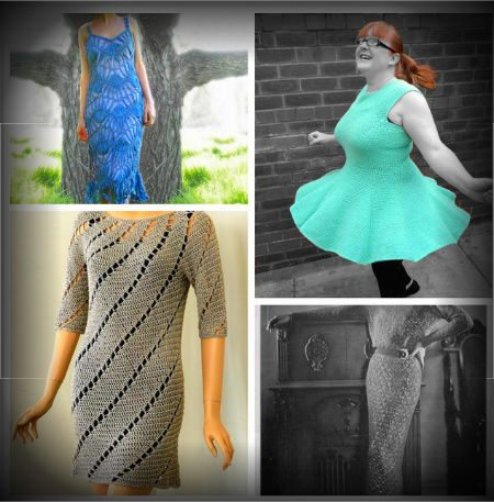 crochet dress patterns1 Crochet Blog Roundup: September in Review