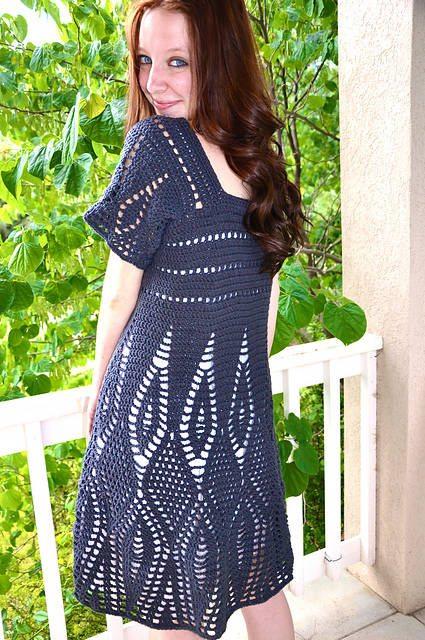 15 Beautiful Crochet Dress Patterns Crochet Patterns How To