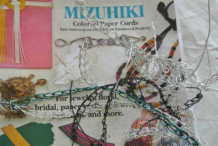 Post image for Attempting to Crochet with Mizuhiki Paper Cords