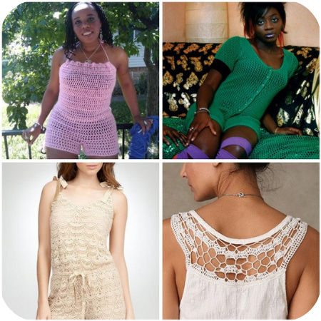 crochet rompers Crochet Blog Roundup: September in Review