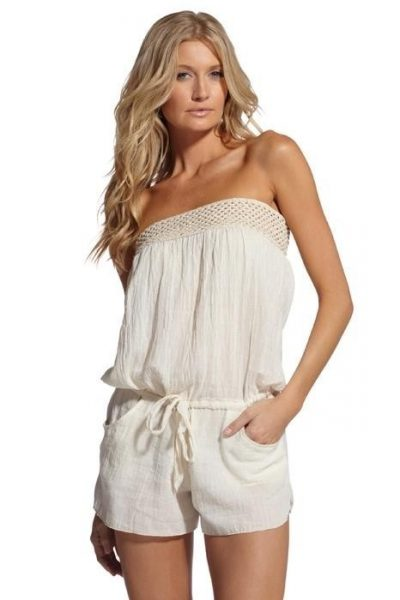 crochet top romper 400x600 11 Cutest Ever Crochet Rompers for Women
