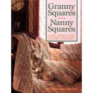 granny squares book Then and Now in Crochet (8/26   9/8)