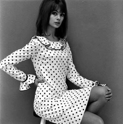 jean shrimpton wearing mary quant Designer Crocher: Mary Quant