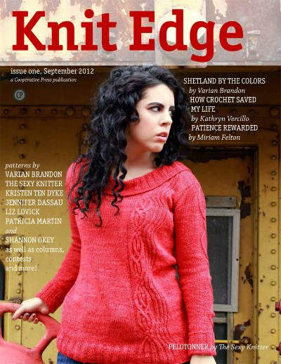 knit edge magazine Knitters Seem Welcoming to Crocheters