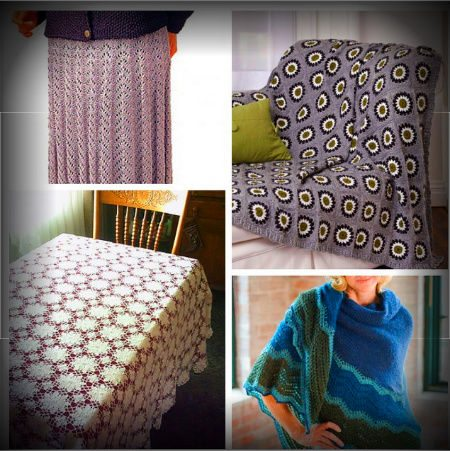 Post image for 10 Fabulous Free Crochet Patterns That Require 4000+ Yards of Yarn