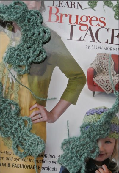 learn bruges lace (Inter)National Crochet Month So Far