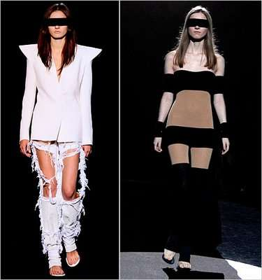 maison martin margiela 2012 in Crochet: Crochet Fashion