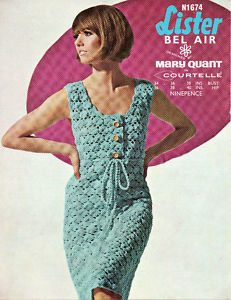 mary quant crochet pattern dress Designer Crochet: The 50 Famous Fashion Designers Project