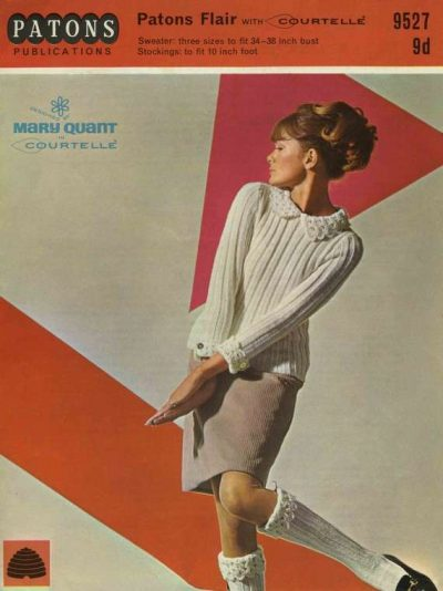 mary quant knitting pattern 400x534 Designer Crocher: Mary Quant