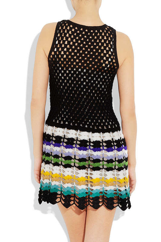 robe crochet Missoni