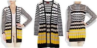missoni crochet knit coat 400x200 Designer Crochet: Missoni