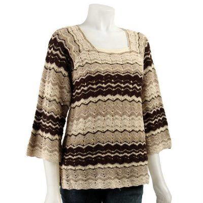 missoni crochet sweater 400x400 Designer Crochet: Missoni
