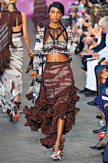 missoni runway Designer Crochet: Missoni