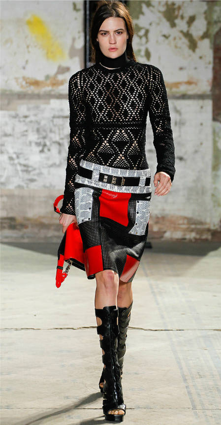 proenza schouler crochet September Celebrity and Designer Crochet