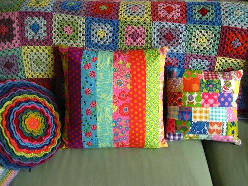 attic 24 cushions Crochet Blog Roundup: October in Review