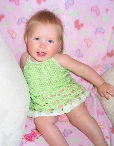 baby crochet dress pattern 15 Beautiful Free Crochet Patterns for Girls Dresses