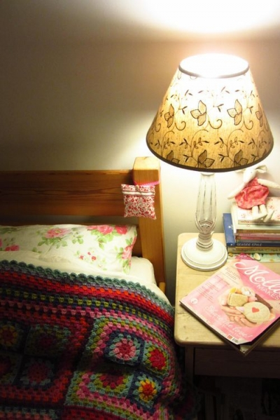 bedtime crochet 400x599 Five Crafters Homes I Would Love To Have a Crochet Retreat At