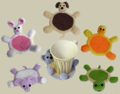 crochet animals 400x311 The Missing Links (Crochet Link Love from My Vacation Days)