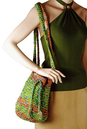 crochet bag Small Projects, Large Hooks! 15 Quick Free Crochet Patterns for Holiday Gifts