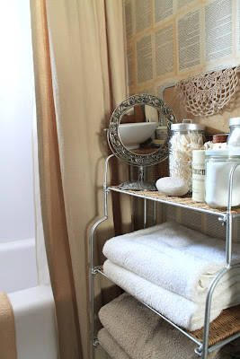 crochet bathroom Five Crafters Homes I Would Love To Have a Crochet Retreat At