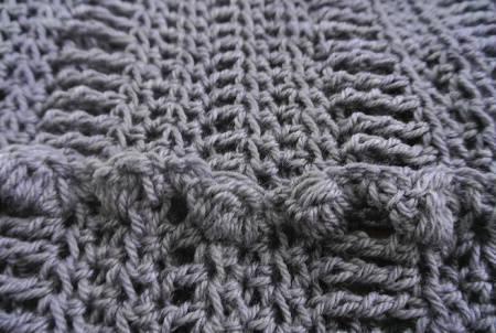 crochet cowl detail My Newest Crochet Cowl