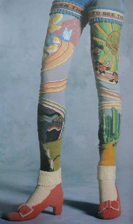 crochet oz socks