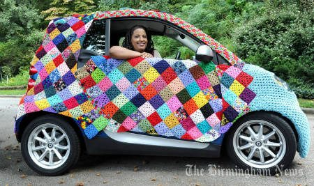 crochet smart car Crochet Artist Donna Rutledge Okoro