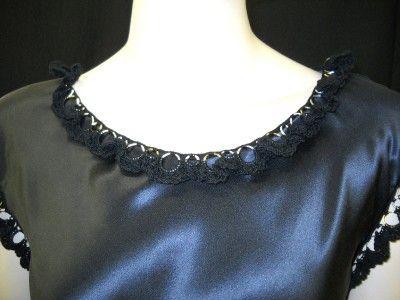 crochet trim nina ricci dress Designer Crochet: Nina Ricci