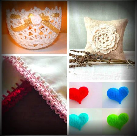 crochet wedding favors Roundup of Wedding Crochet Posts for DIY Summer Brides